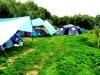 Палаточный городок на Десне