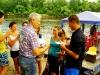 Вручение дипломов сплавщика